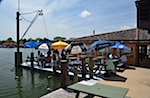 Lunch at The Crab Claw, St. Michaels, MD